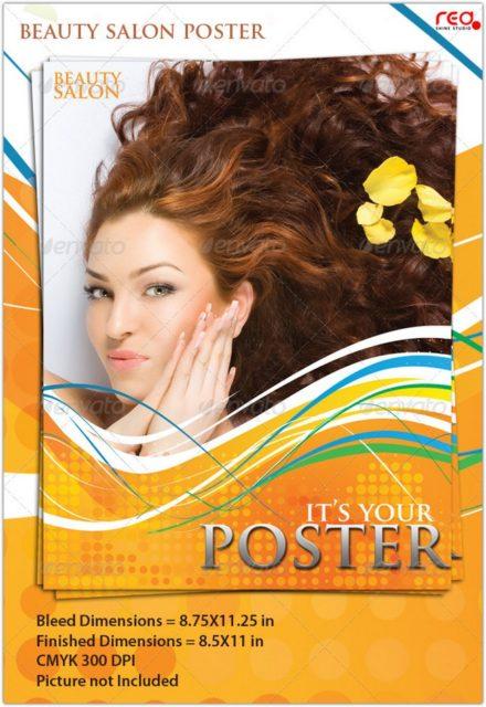 Beauty Salon Poster Flyer Template