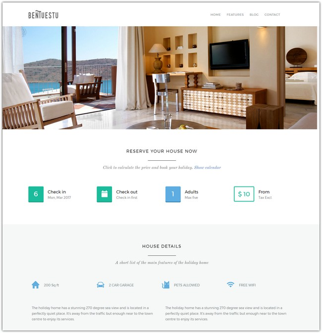 Bentuestu - Responsive Real Estate WordPress Theme