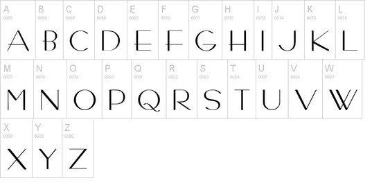 Bernardo Moda Contrast Fonts