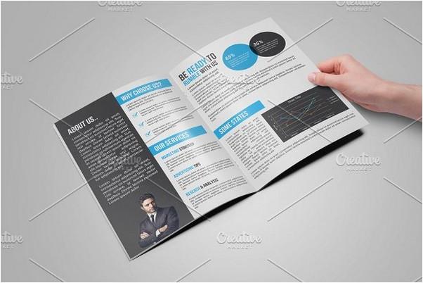 Bi fold creative brochure