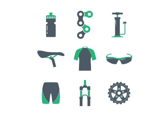 Bicycle Icon Set # 5