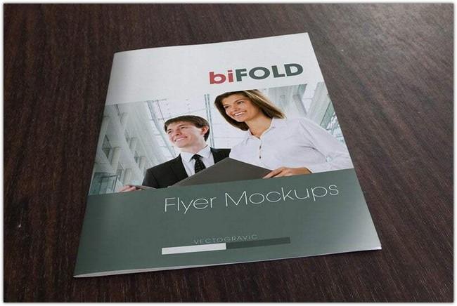Bifold Flyer Mockup