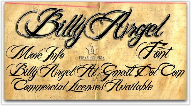 Billy Argel Font