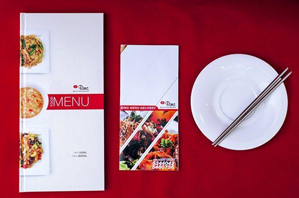 Bima Restaurant Menu Book 002