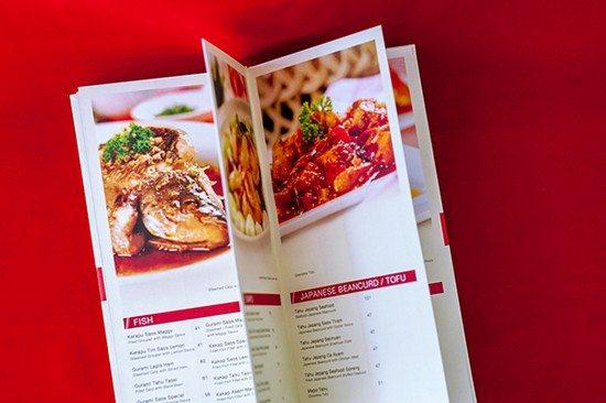 Bima Restaurant Menu Book