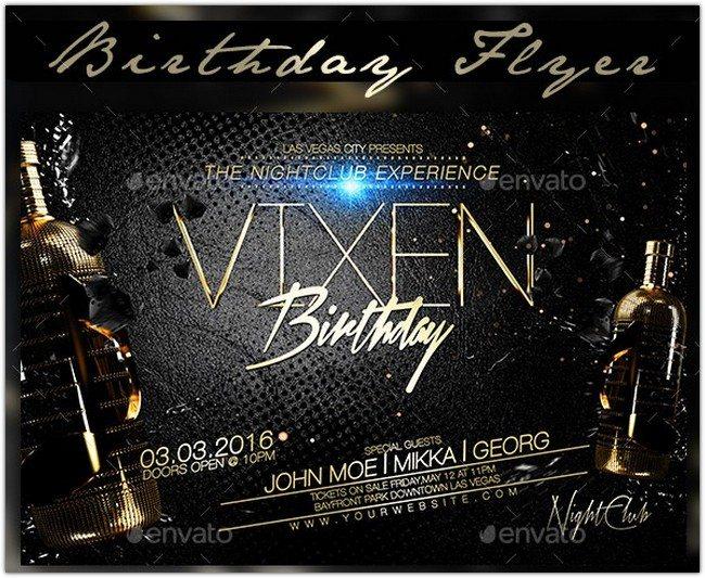 Birthday Flyer # 3
