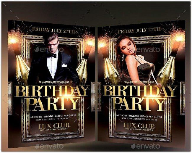 Birthday Party Flyer # 2
