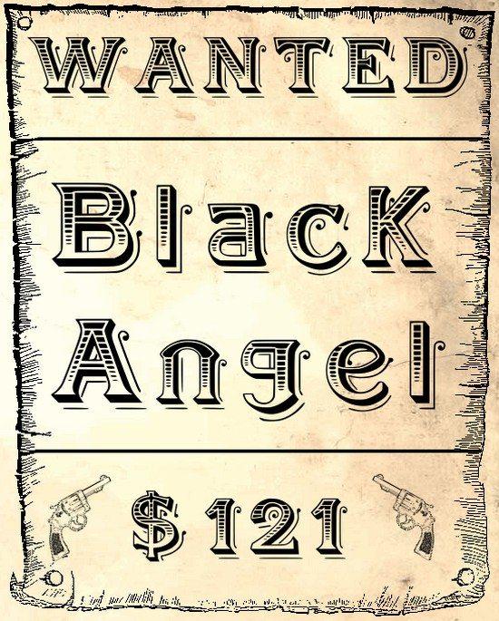 BlackAngel font