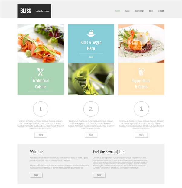 Bliss Free CSS TEMPLATE