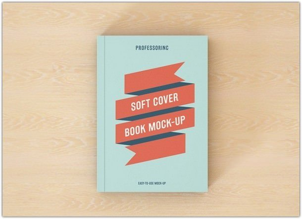 Book Cover Mock-up Design