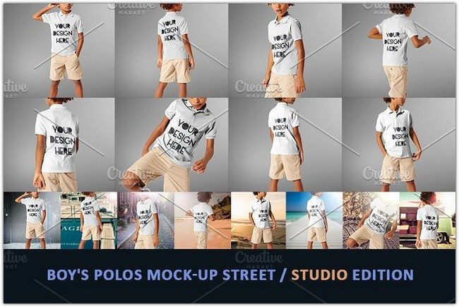 Boy's-Polos-Mock-up-Street-studio