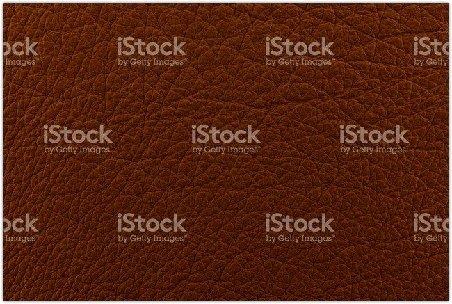 Brown smooth leather texture