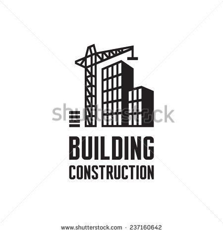 Building construction logo illustration