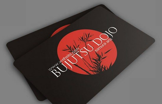 Bujitsu Business Card