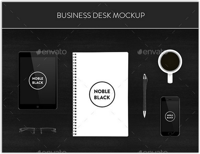 Business Desk Mockup