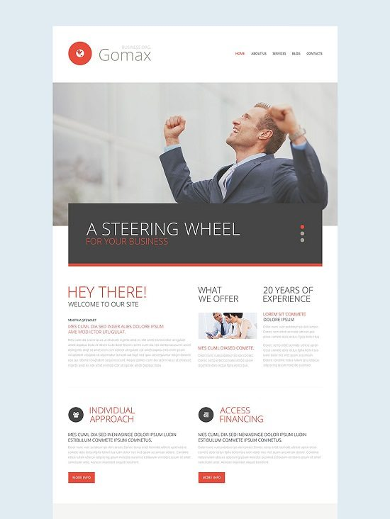 Business Responsive Web Template