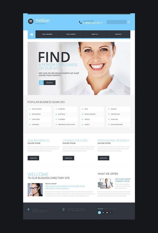 Business-Responsive-Website-Template