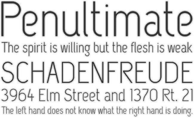 CAPSUULA Font