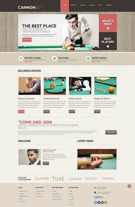 Cannon Ball Responsive WordPress Theme