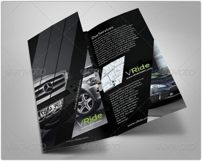 Car Business Tri-Fold Brochure