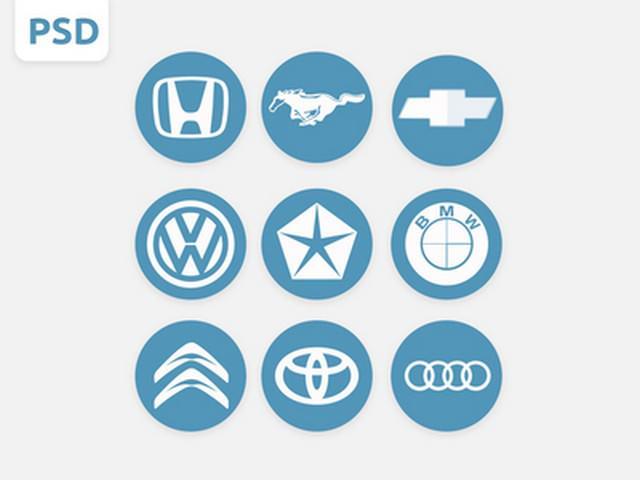 Car-Logos-PSD