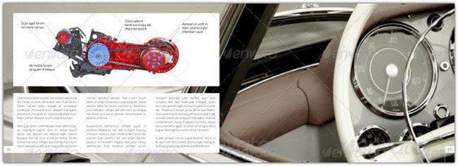 Car / Product Showcase Horizontal A4 Brochure