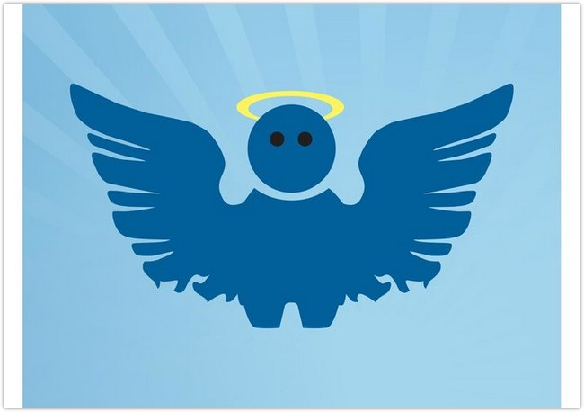 Cartoon Angel Vector