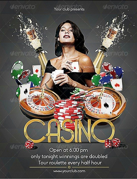 Casino Poster and Flyer