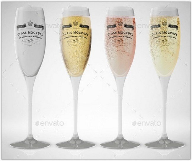 champagne-glass-mockup