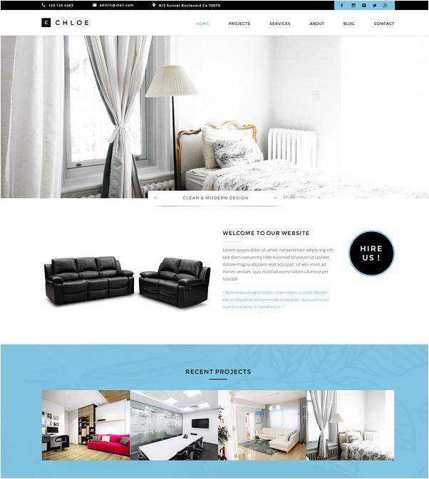 Chloe - Interior Furniture Template