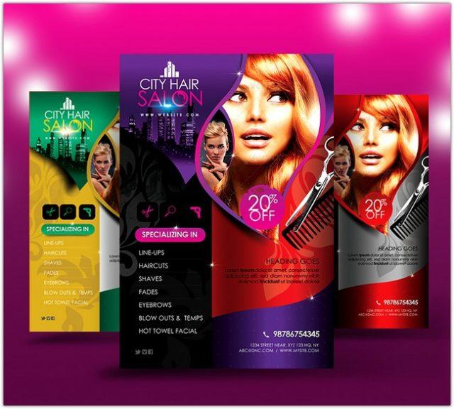 City Hair Salon Flyer V2