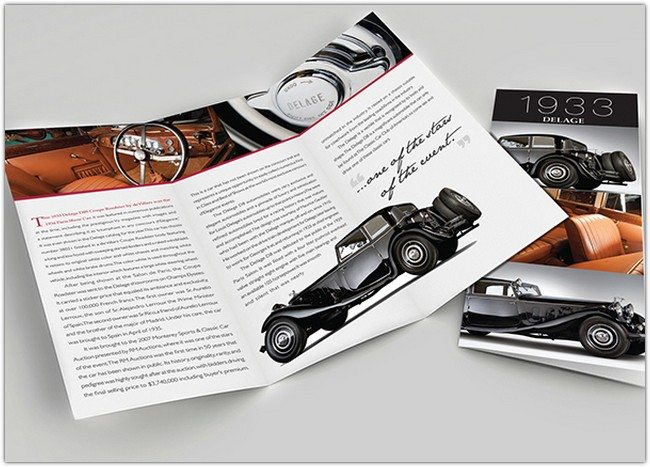 Classic Cars Brochures