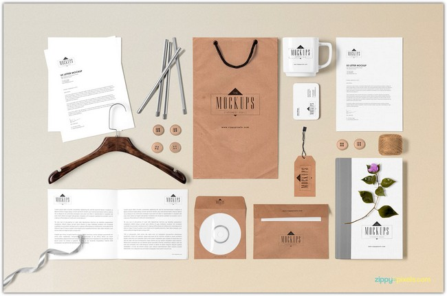 Classic Stationery Mock-Up