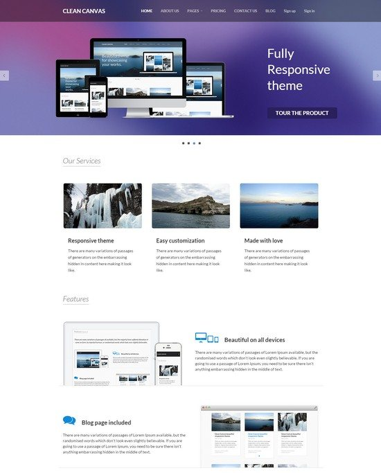 Clean-Canvas-Business-Theme
