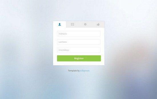 Clean-Classy-Registration-Form