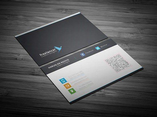 Clean & Creative Business Card