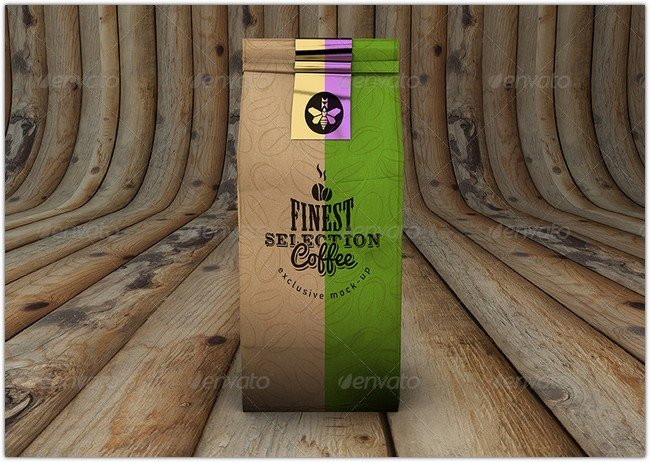 Coffee Bag Mock-Up