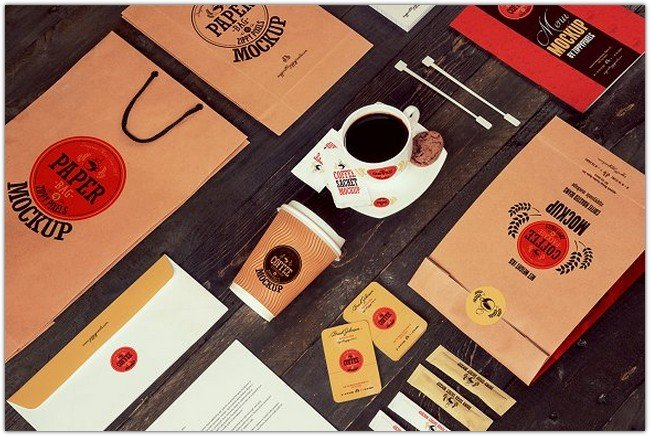 Coffee Branding & Packaging Mockups