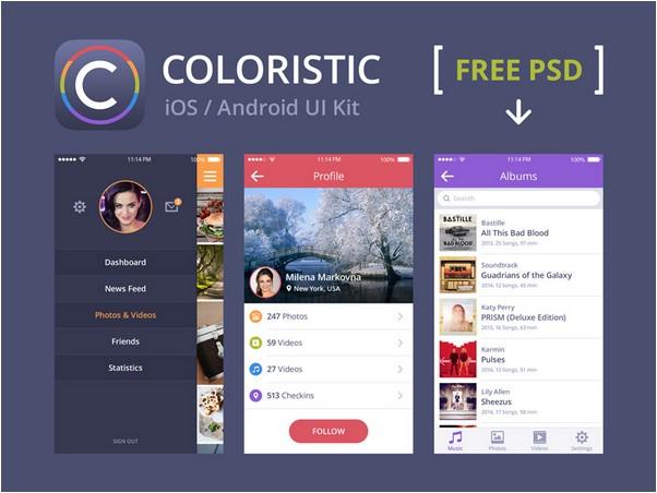 Coloristic Free PSD Sample