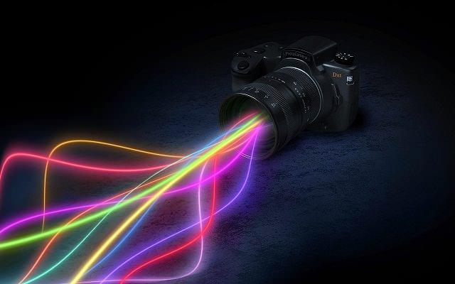 colurful-rays-in-camera