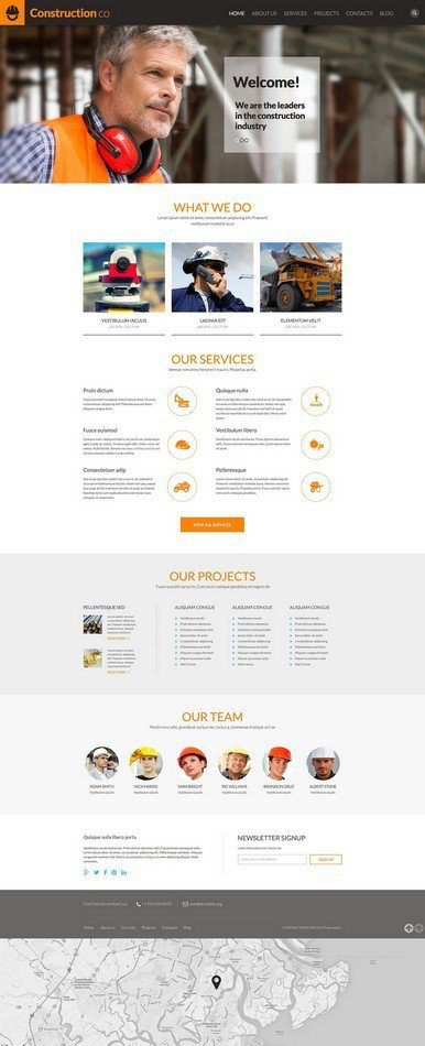 Construction-Business-WordPress-Theme