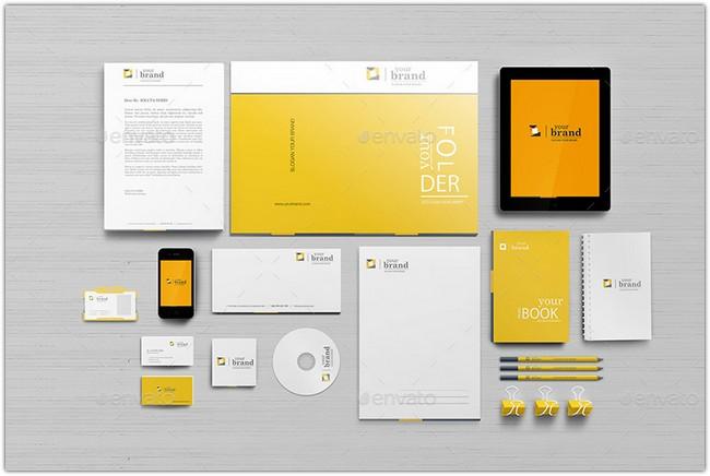 Corporate Identity – Branding Mockups