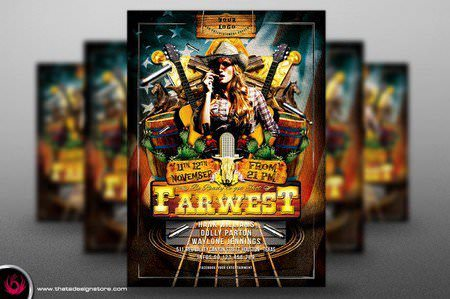 Country-Live-Flyer-Template-V1