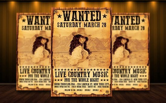 Country Western Flyer V3 PSD