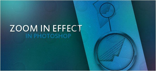 Create a Zoomed In Effect in Photoshop