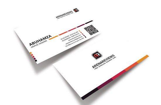 Creative White Business Card Template