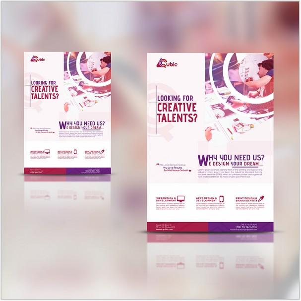 Creative agency Flyer Free PSD