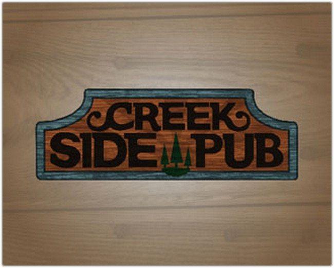 Creek Side Pub Logo