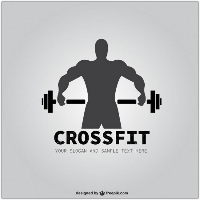 Crossfit logo Free Vector