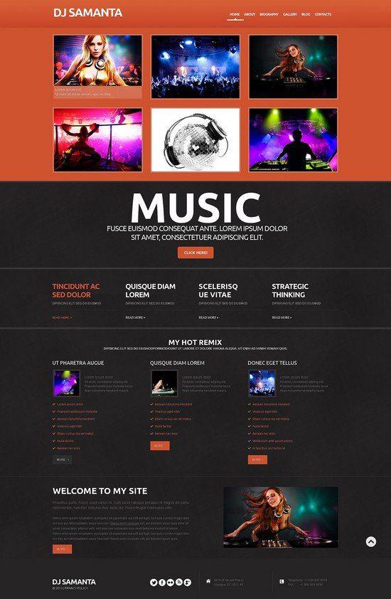 DJ-Samanta-Responsive-WordPress-Theme